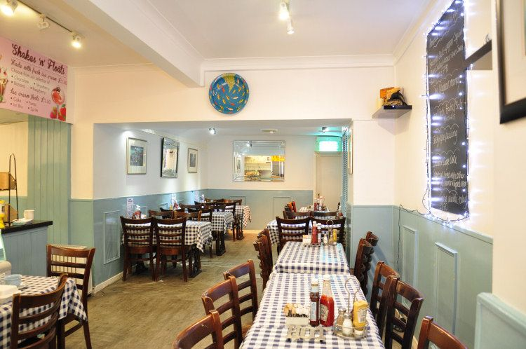 fish and chips shop interior design free